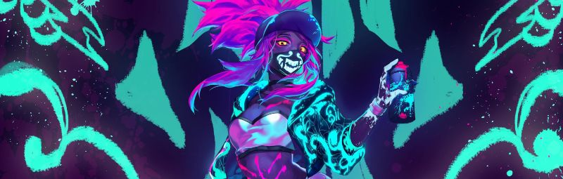 Akali Mask Neon Pictures