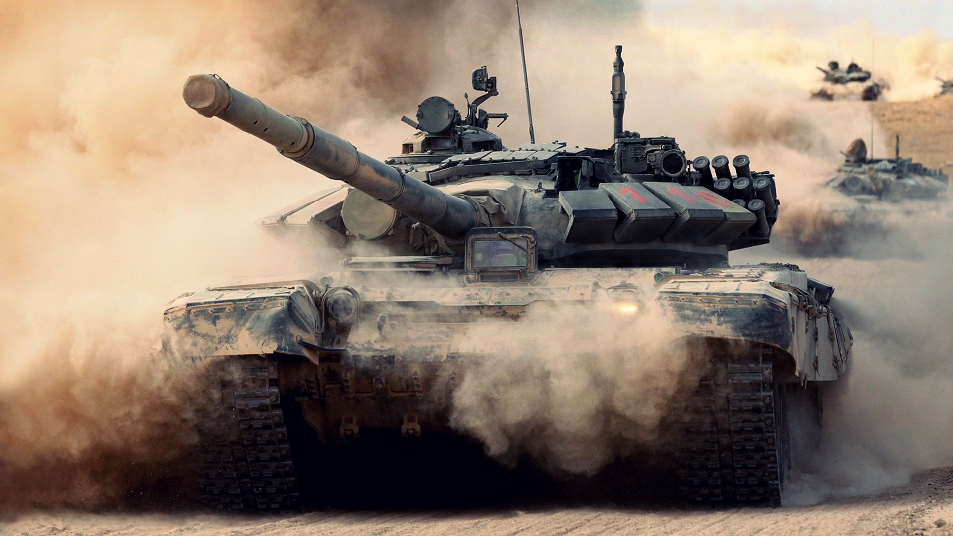 Tanks HD Wallpaper