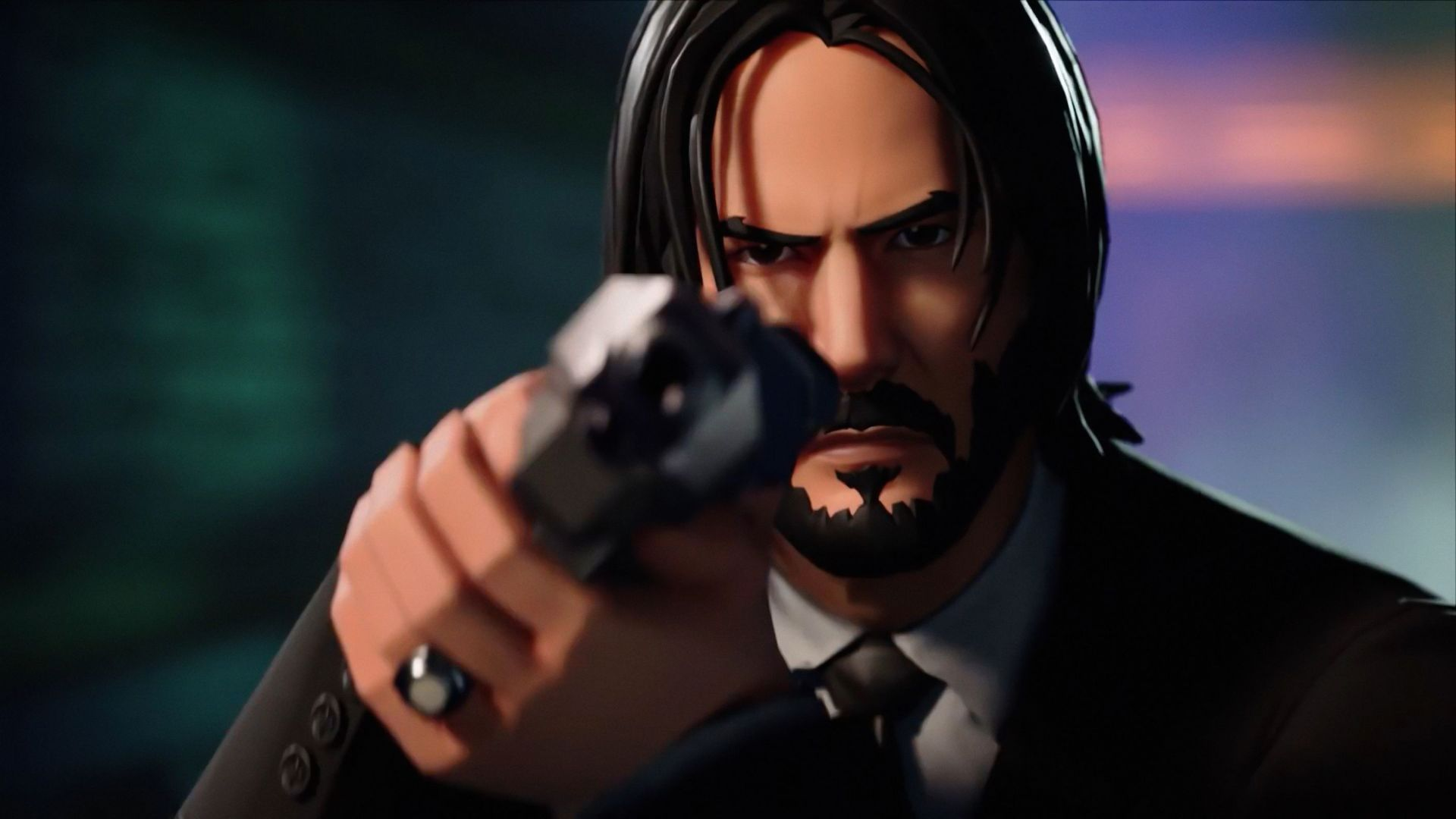 John Wick Fortnite Backgrounds