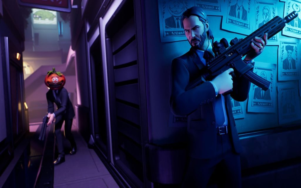 Take Care Fortnite Cause John Wick Is Here