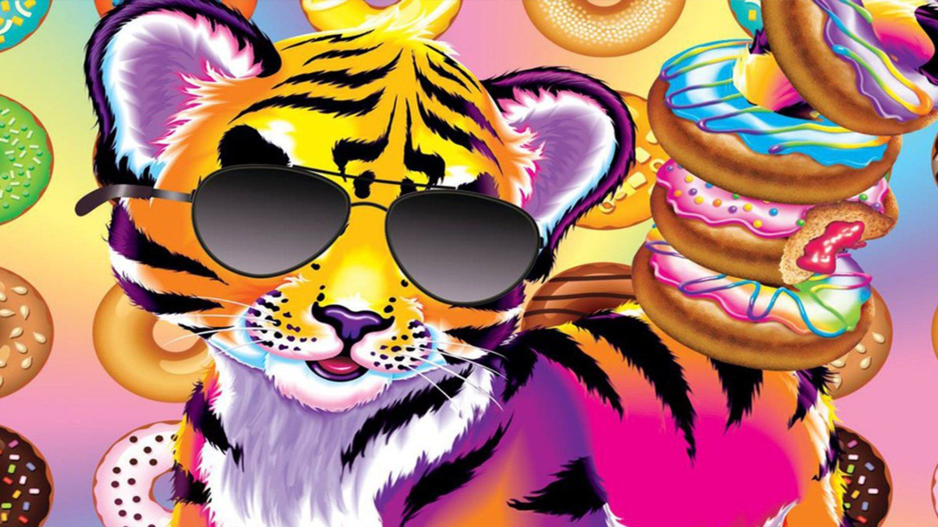 Lisa Frank Backgrounds