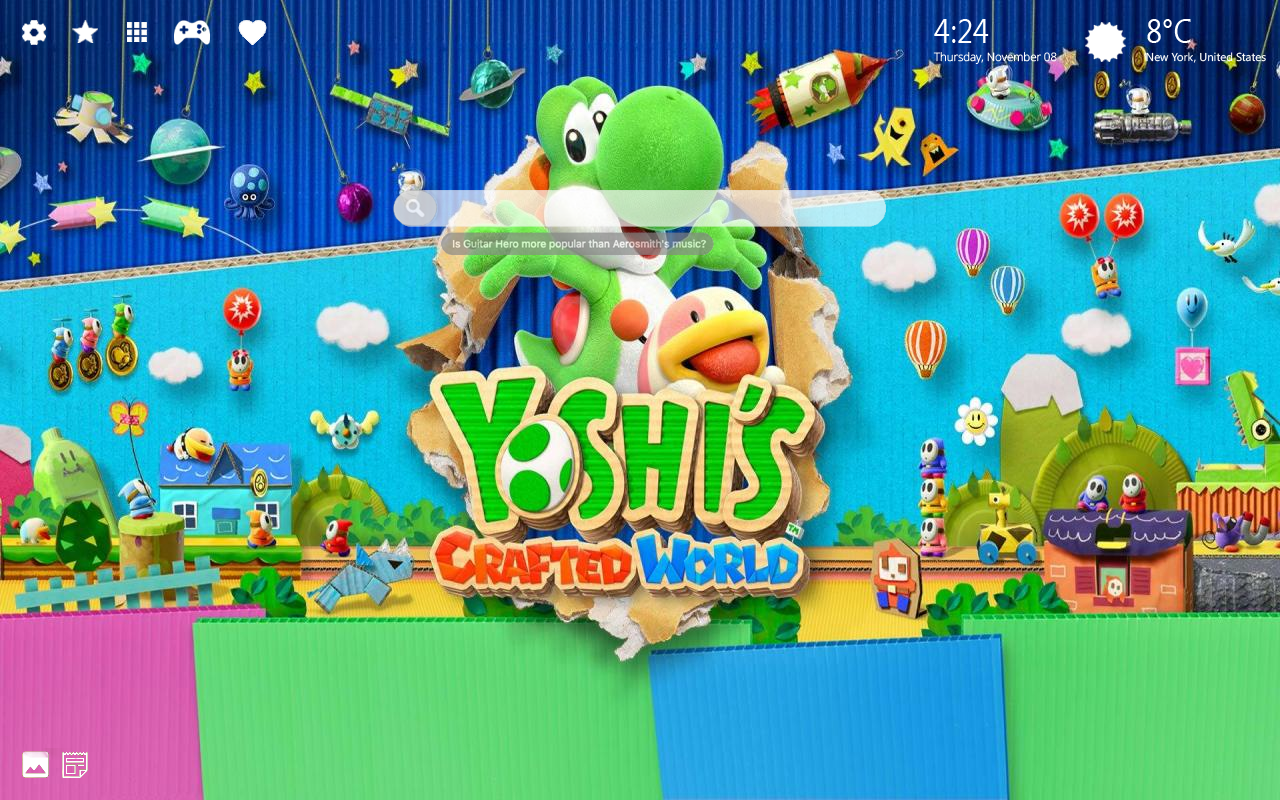 Yoshi's Crafted World Pics