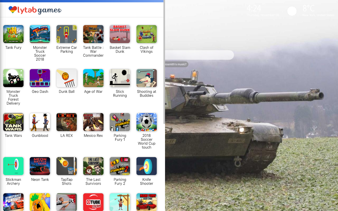 Tanks Games Wallpaper