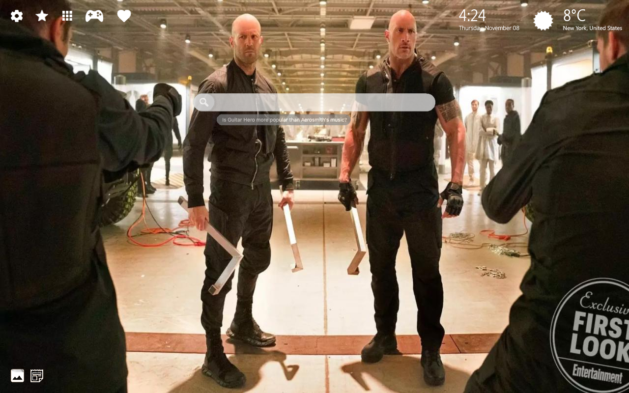 Fast & Furious Hobbs And Shaw Movie Wallpaper