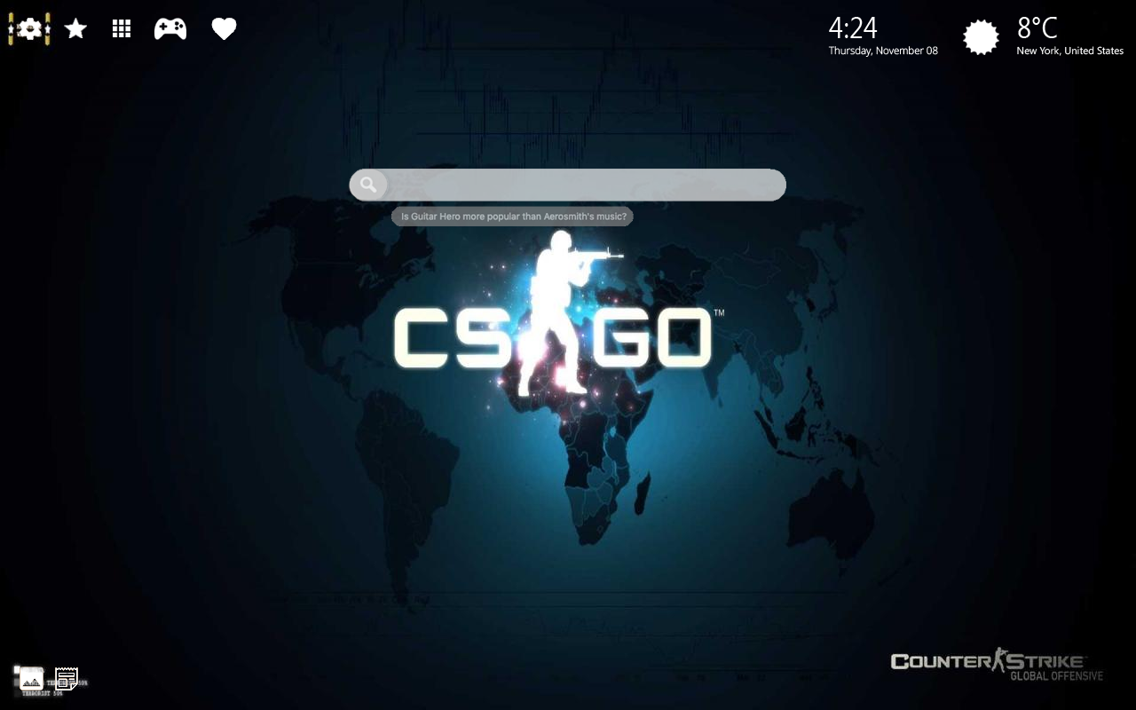 Counter Strike CS GO Home Wallpaper