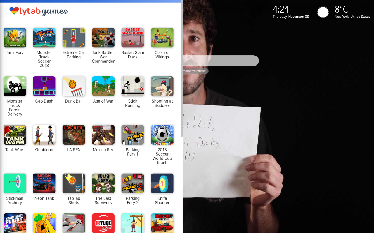 Lil Dicky Earth Games Wallpaper
