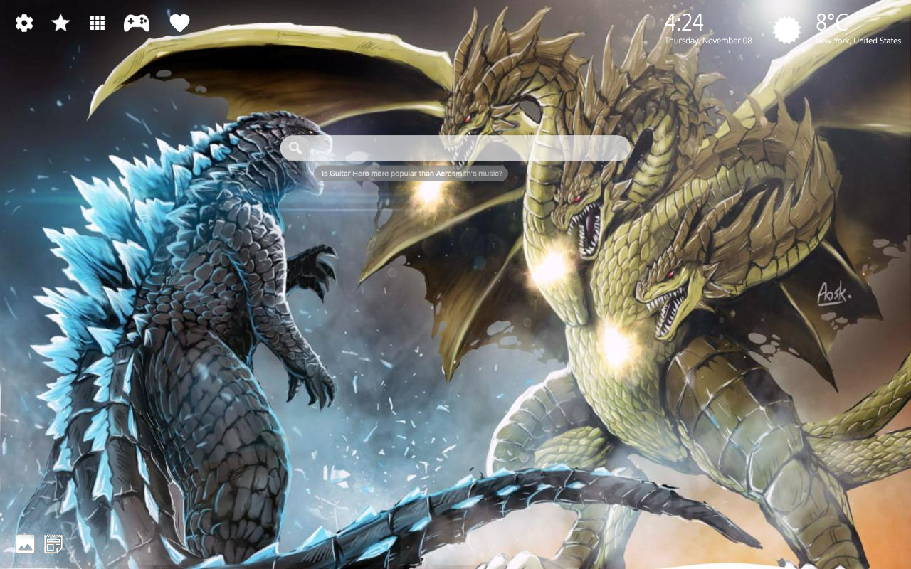 Amazing Godzilla Wallpapers