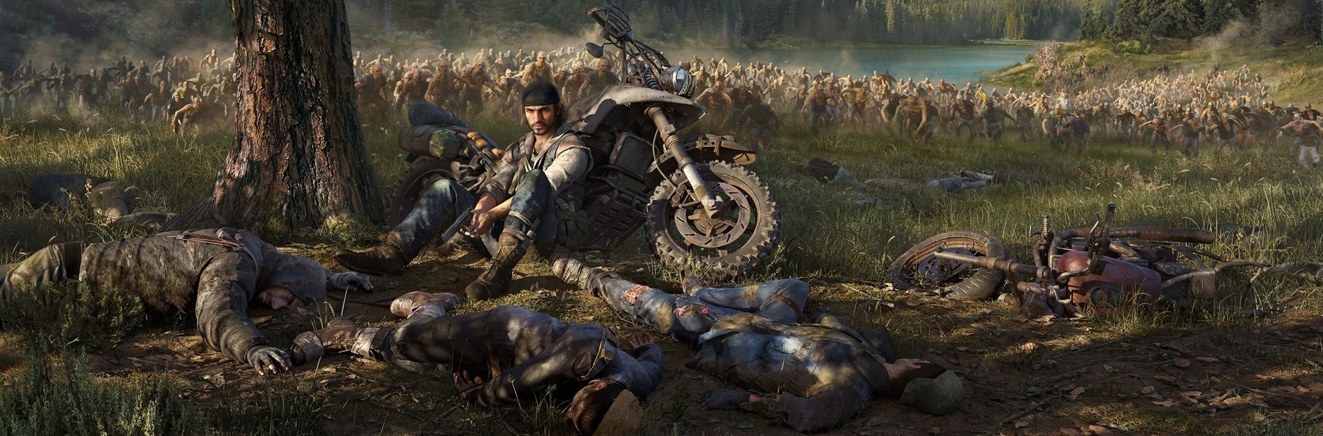 Days Gone PS4 4K Background