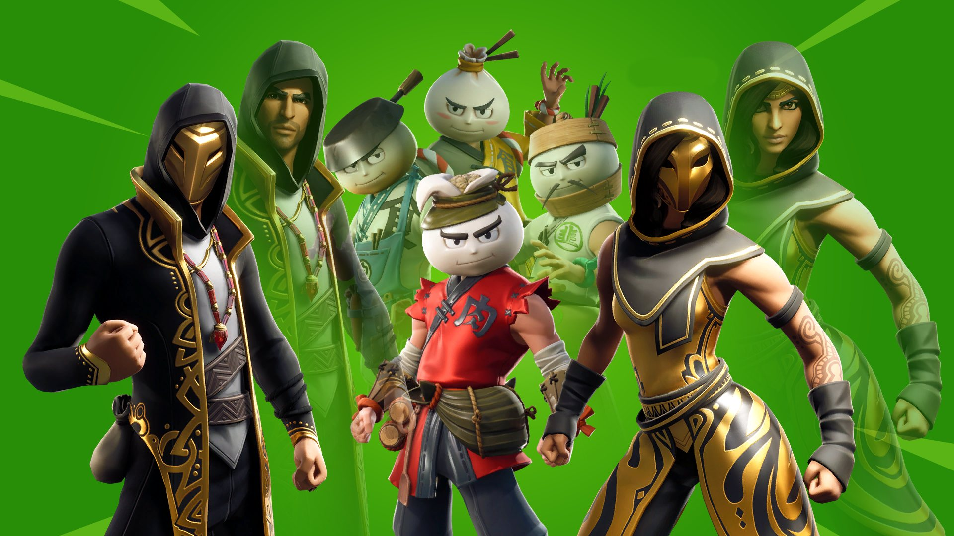 Fortnite Season 9 Skins HD Wallpaper