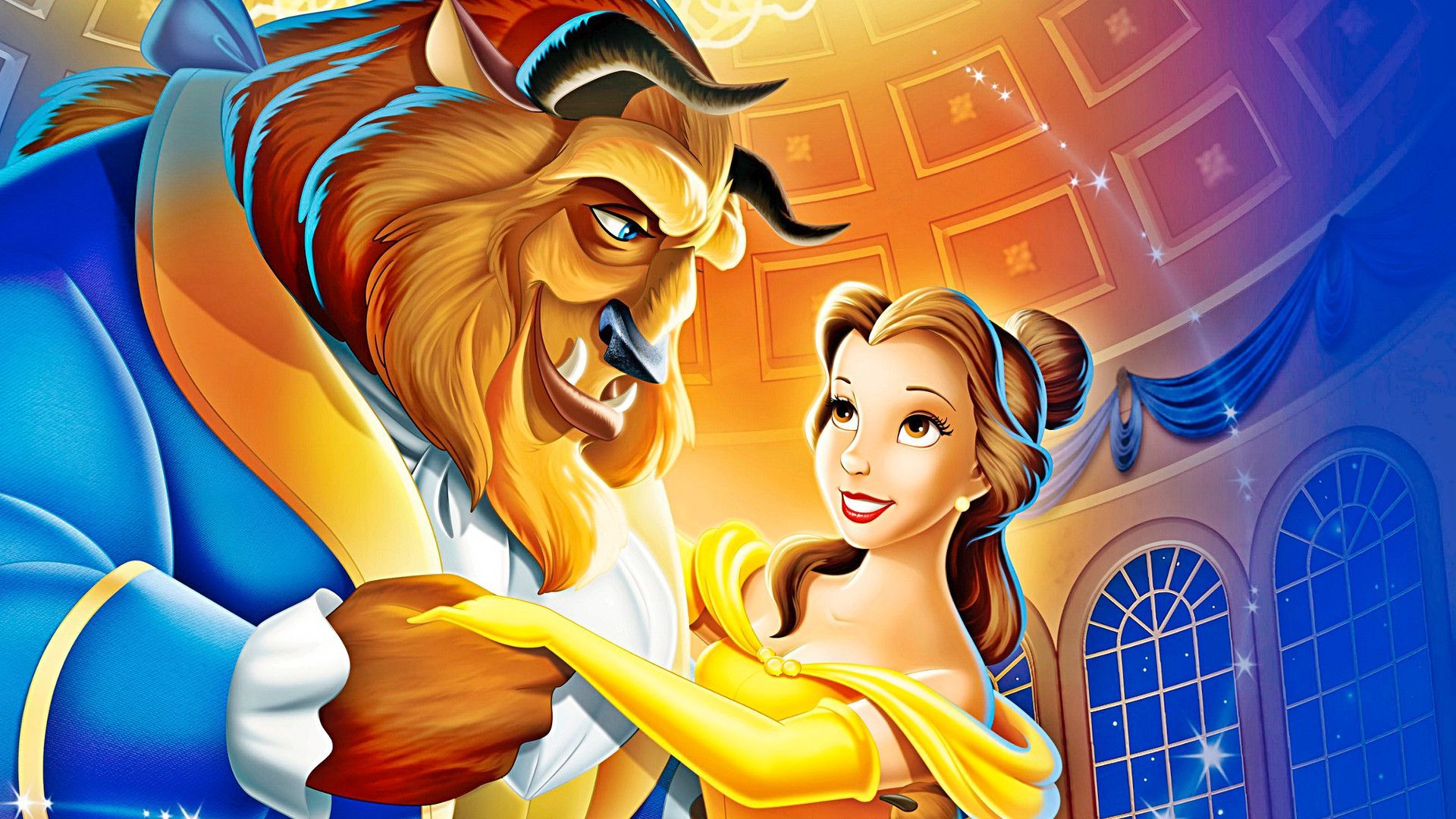 Beauty and the Beast Wallpaper HD Beauty and the Beast Disney Background & Beauty and the Beast Cast Theme HD