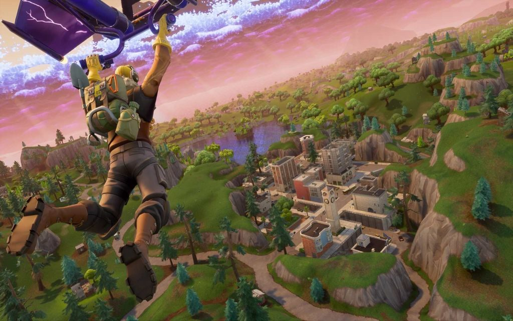 Fortnite's Volcano Has Erupted, Destroying Most Popular Place On The Map!