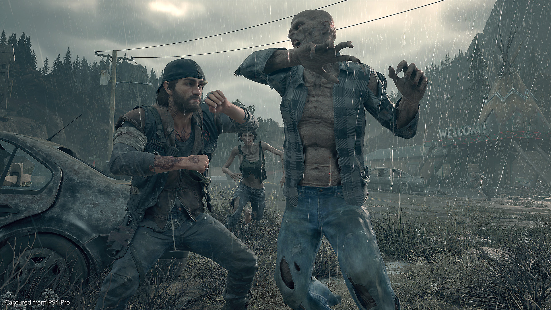 Days Gone PS4 HD Wallpaper