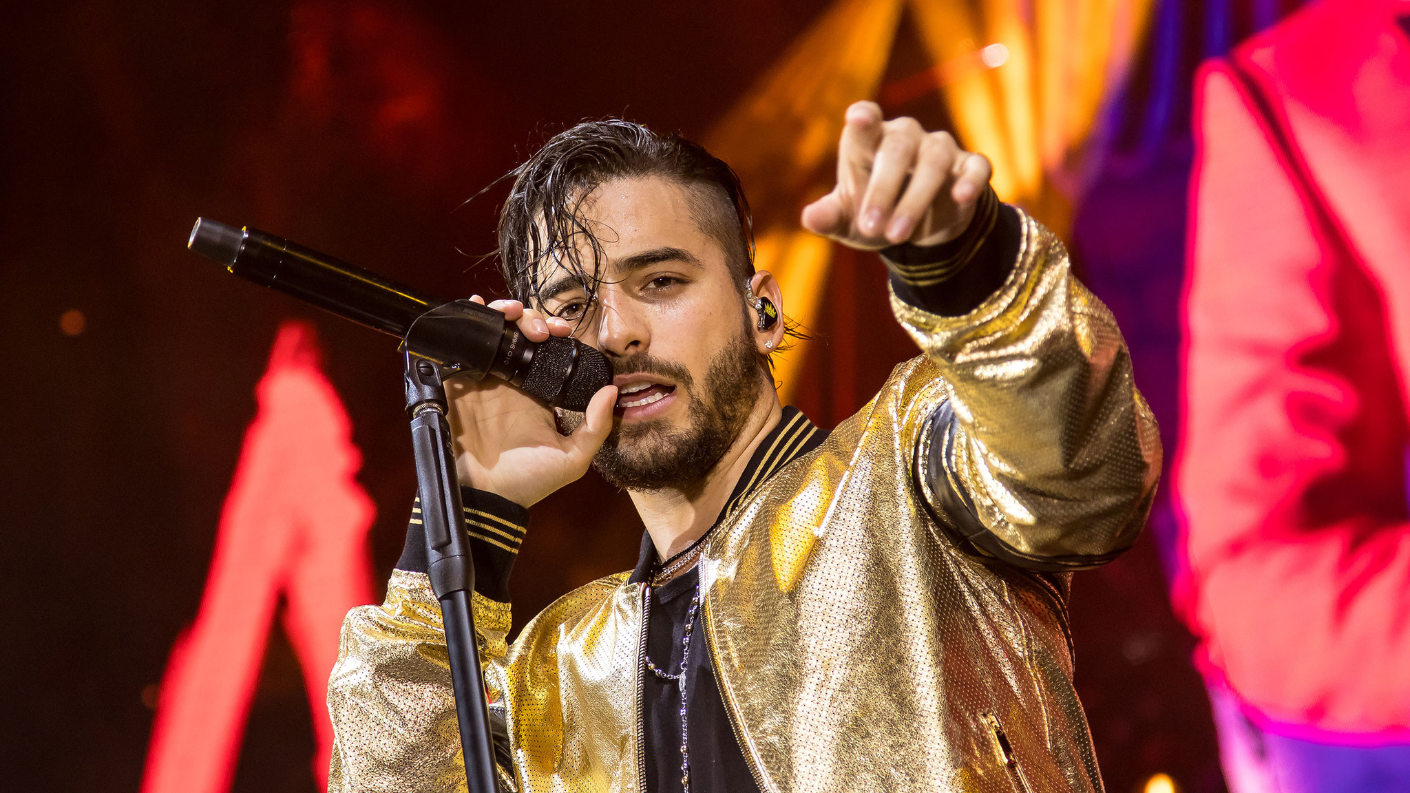 Maluma 2018 & Maluma 2019 Theme & Maluma 2018 Concert Background HD