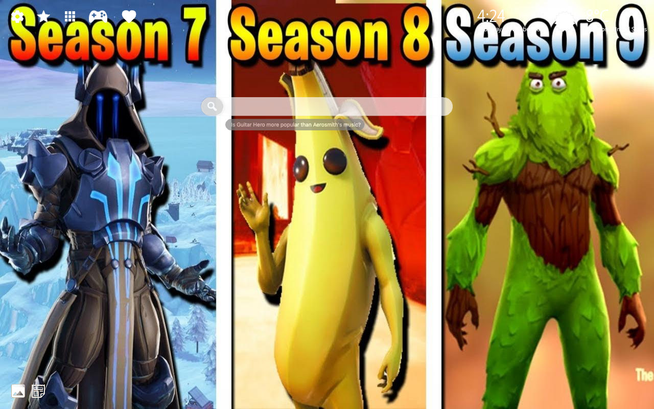 Fortnite Season 9 Skins Home Wallpaper