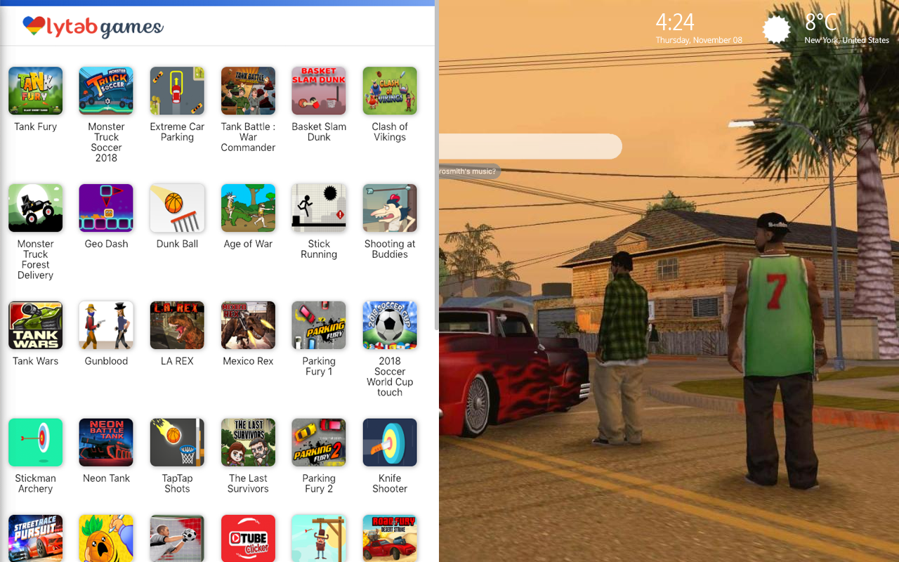 GTA San Andreas Games Wallpaper