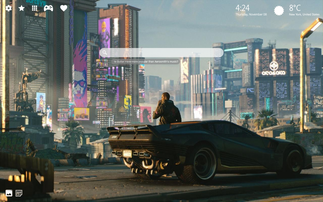 Cyberpunk 2077 Home Wallpaper