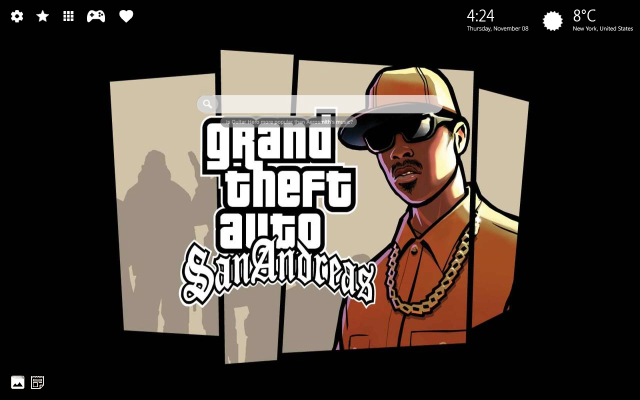 GTA San Andreas Home Wallpaper