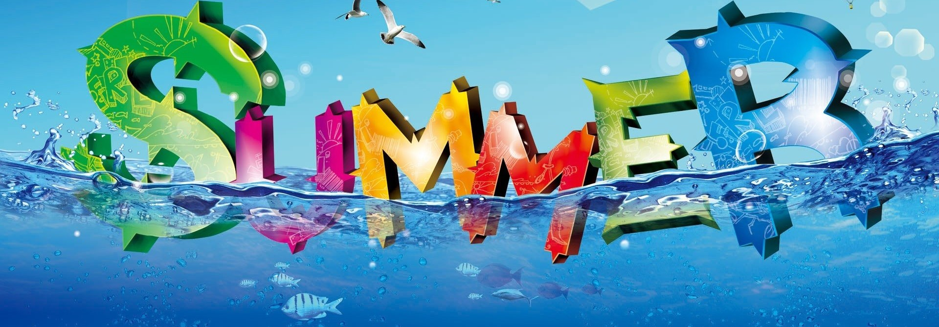 Summer Vacation Holiday 4K Background