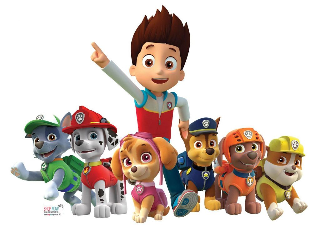 Paw Patrol Mighty Pups Theme HD
