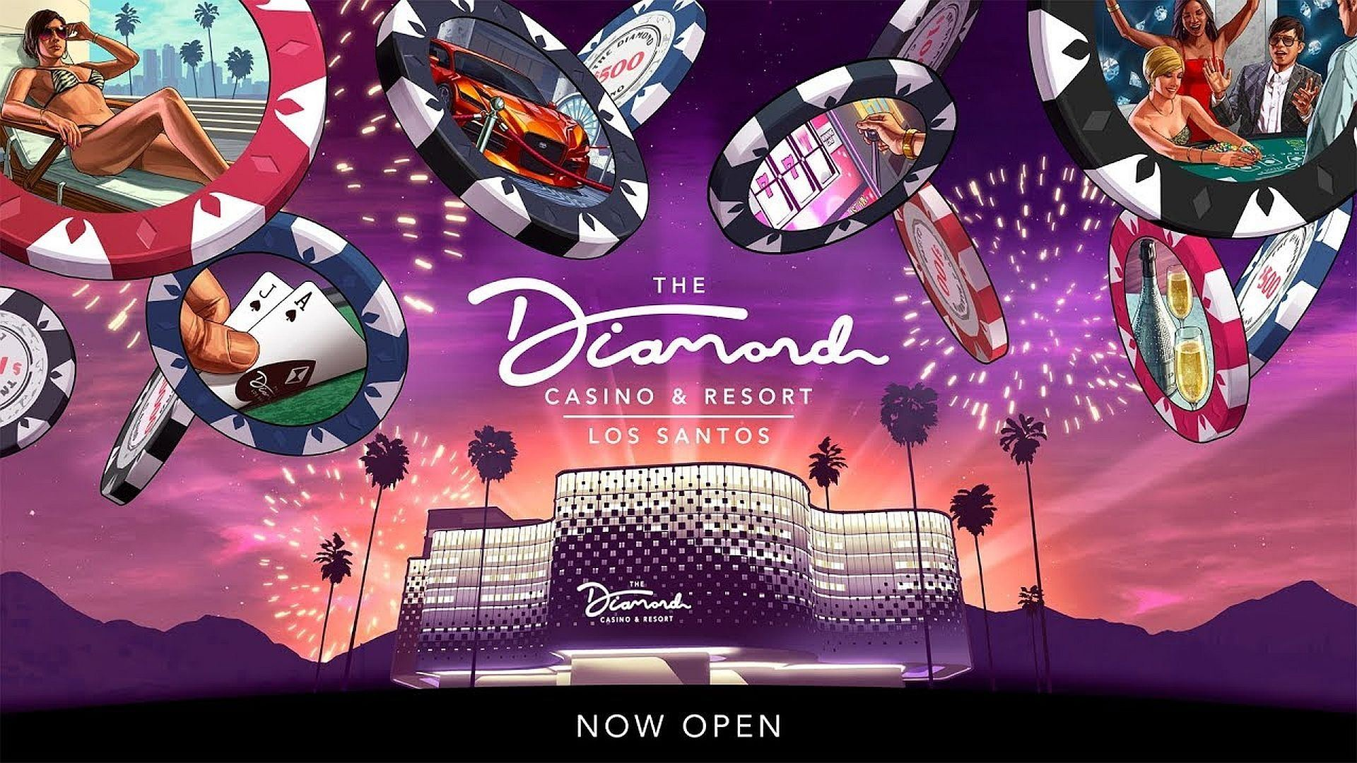 GTA Online Casino Backgrounds