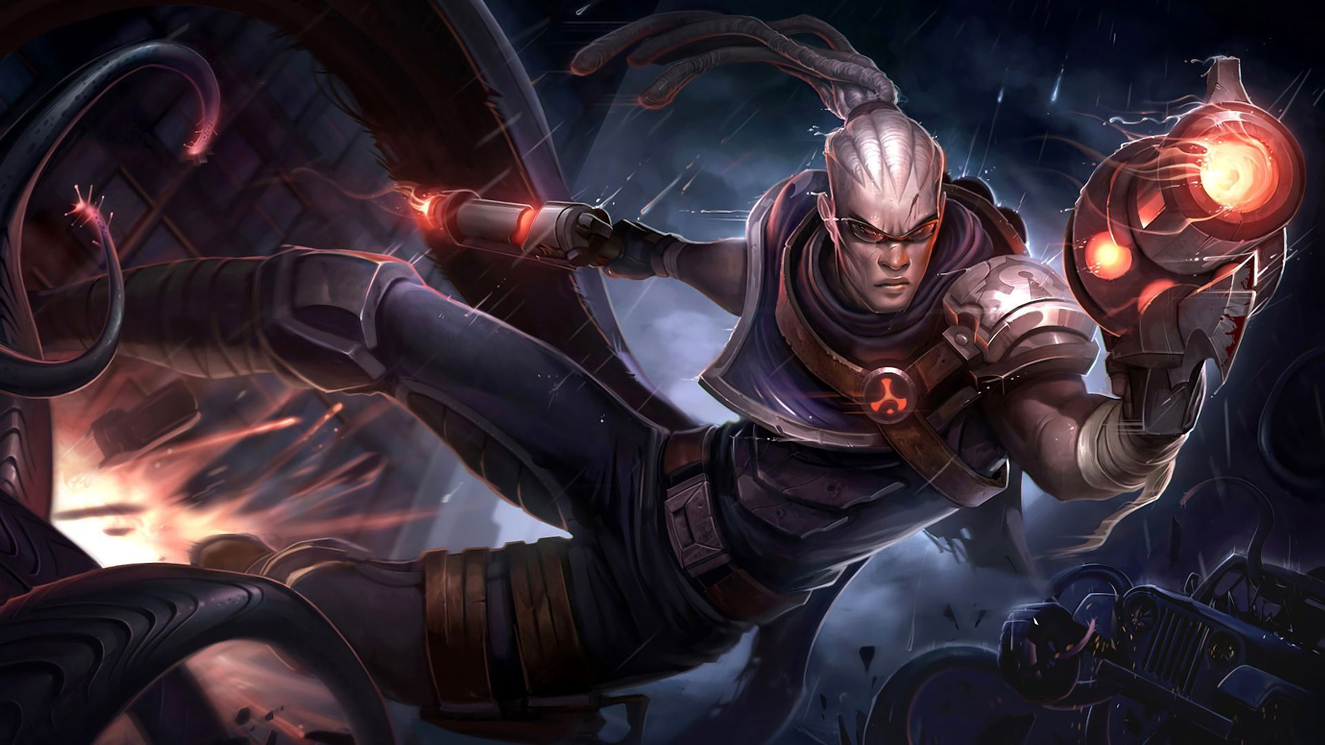 Lucian LOL Backgrounds