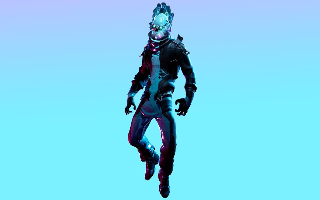 Eternal Voyager Fortnite like a Ghost Rider