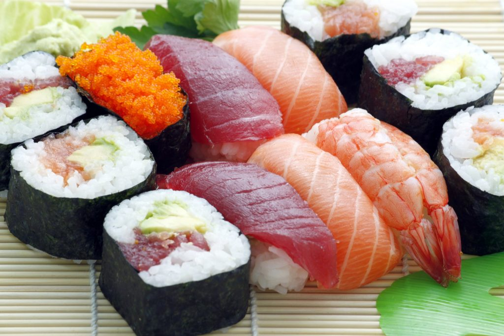Sushi Wallpaper HD - Lovely Tab