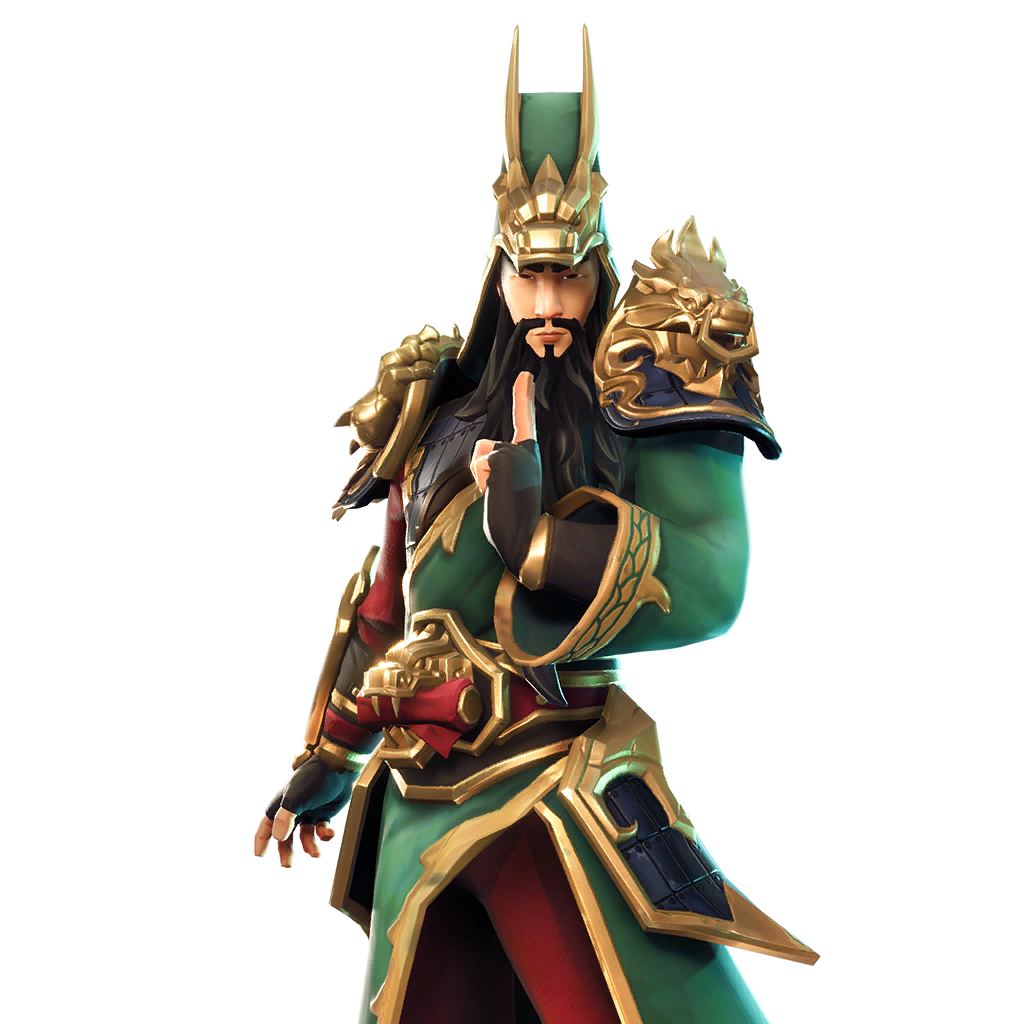 Guan Yu Leaked Fortnite Skin v6.1