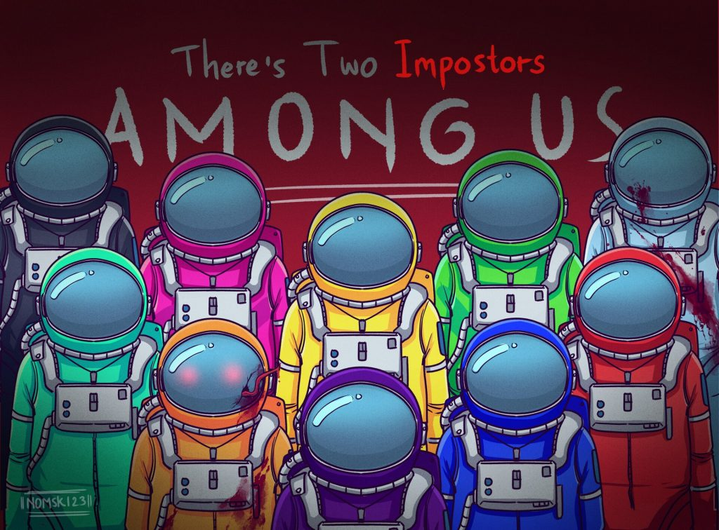 About the Among Us online game + Among us impostor themes HD